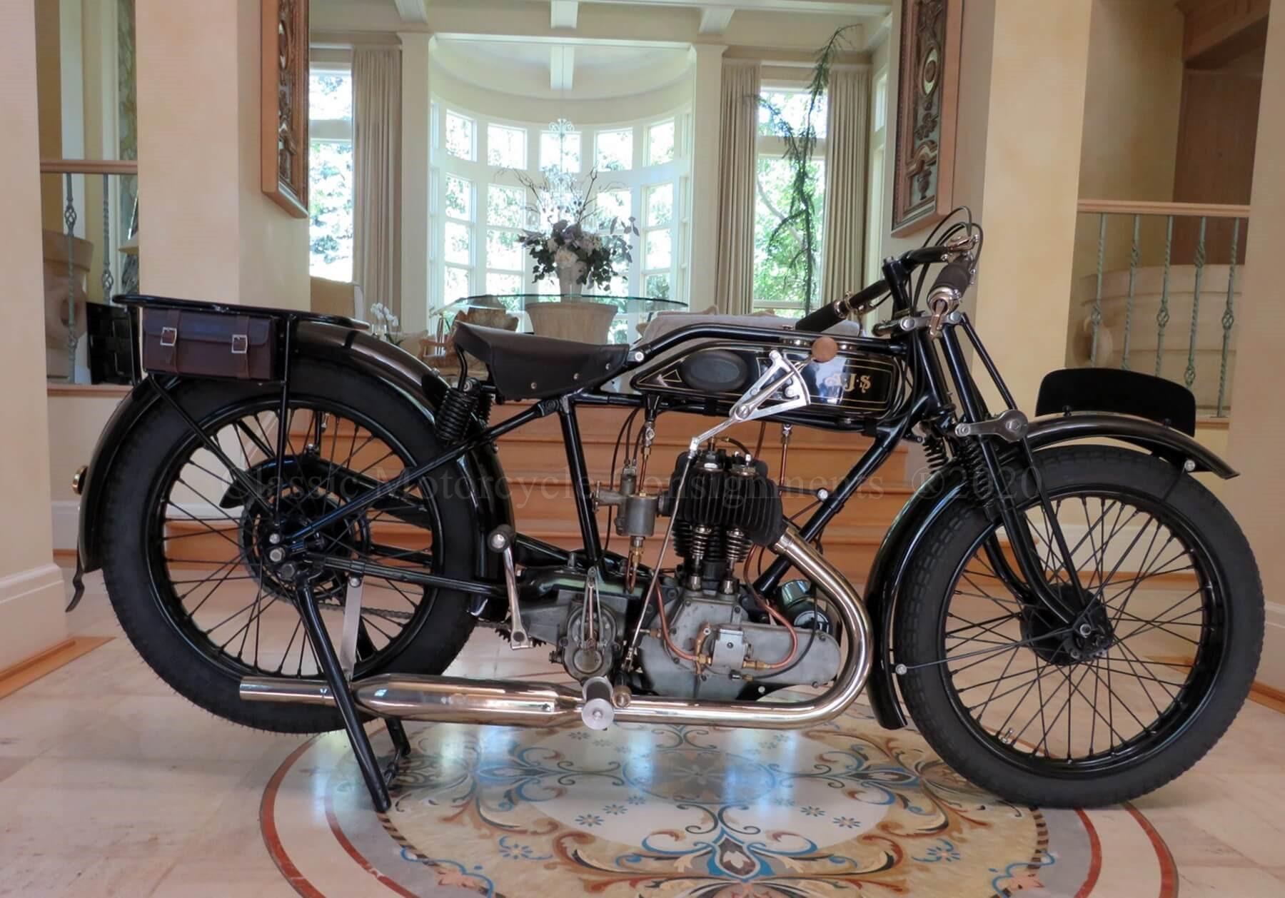 1928 AJS 350 – Castoro Col- SOLD!