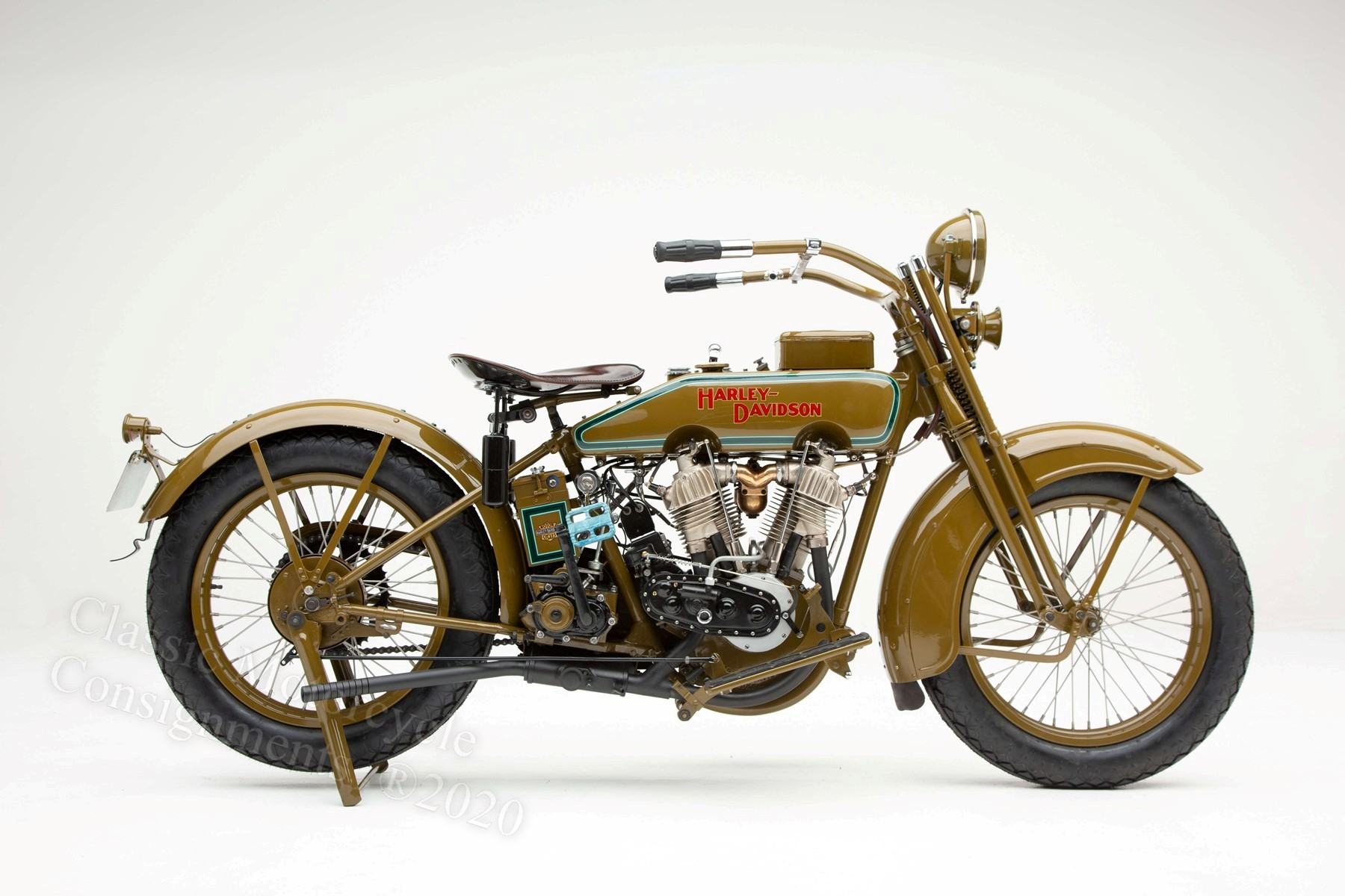1920 Harley Davidson – Model J – Restored