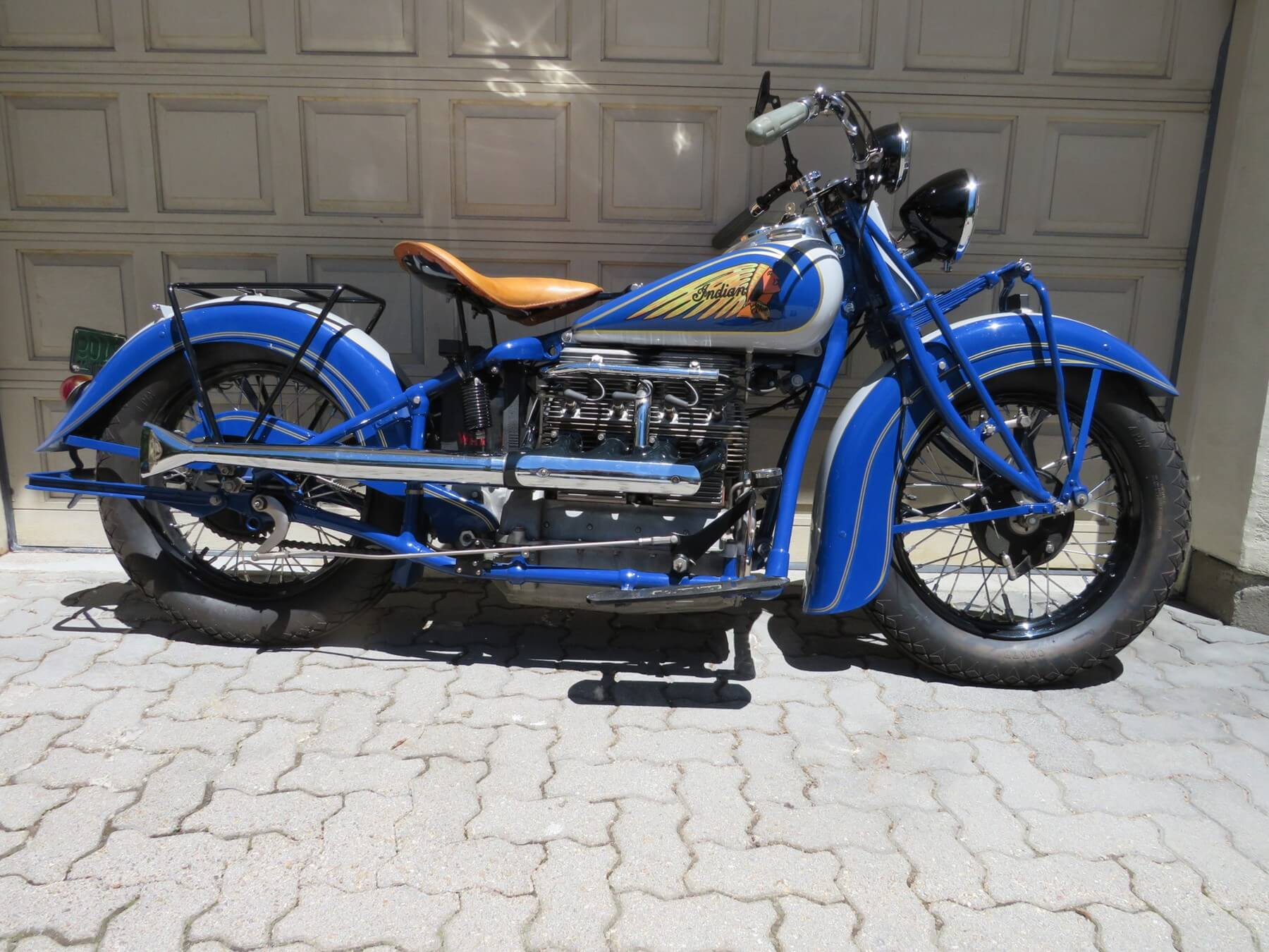 1938 Indian Four – Castoro Col — SOLD