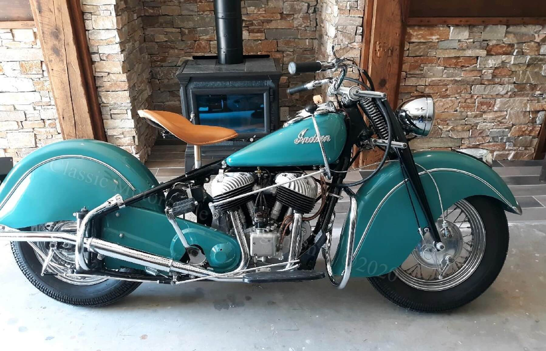 1948 Indian Chief tl  — SOLD