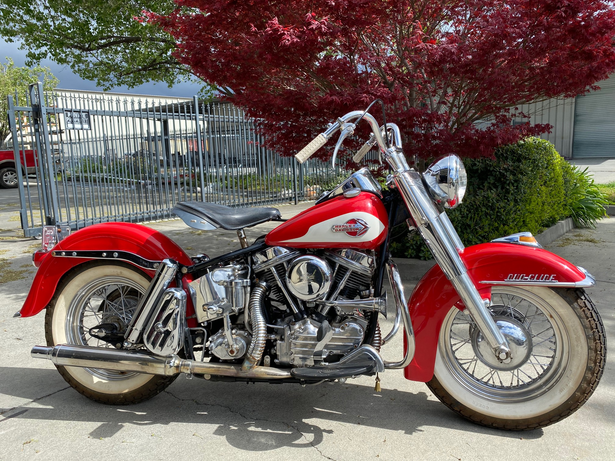 1959 Harley Davidson FLF — DuoGlide Sport Solo w/Chrome Package — SOLD!