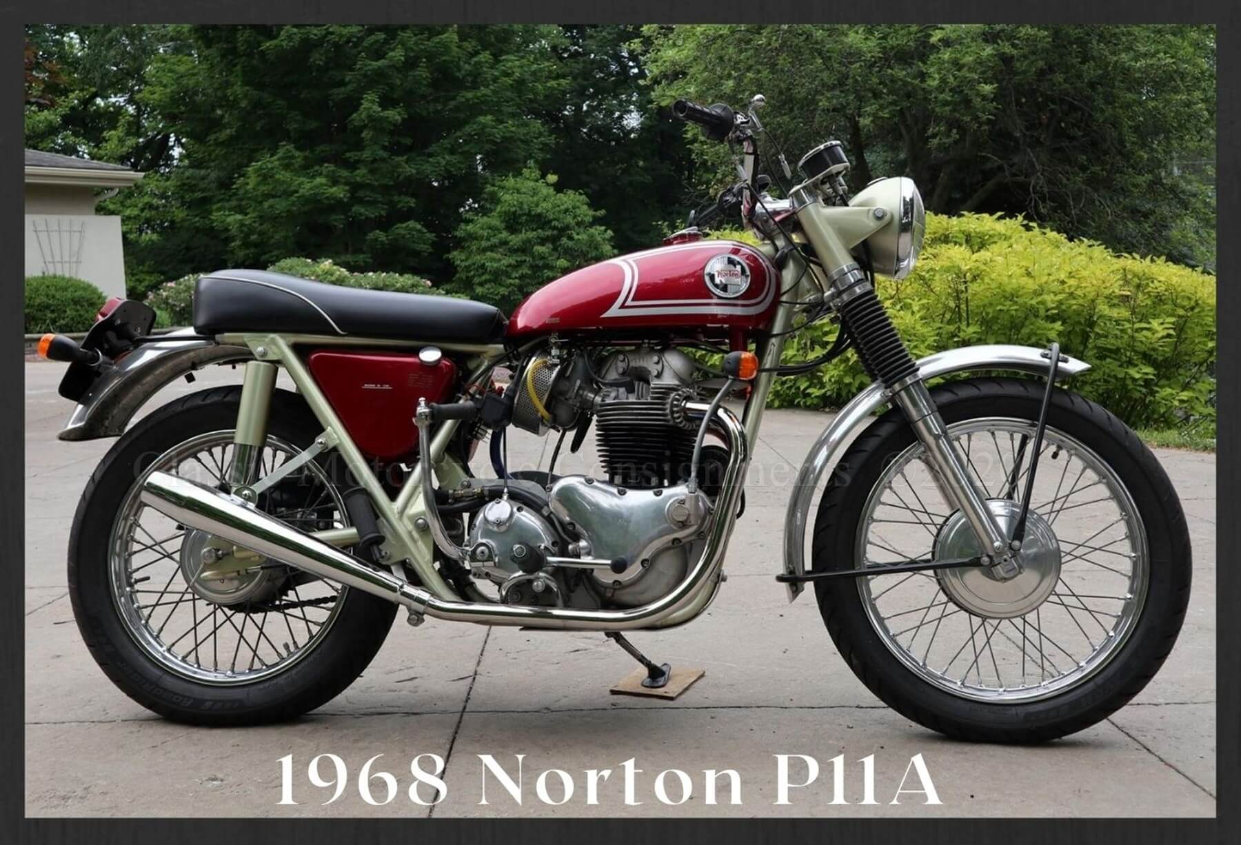 1968 Norton P11A Motorcycle