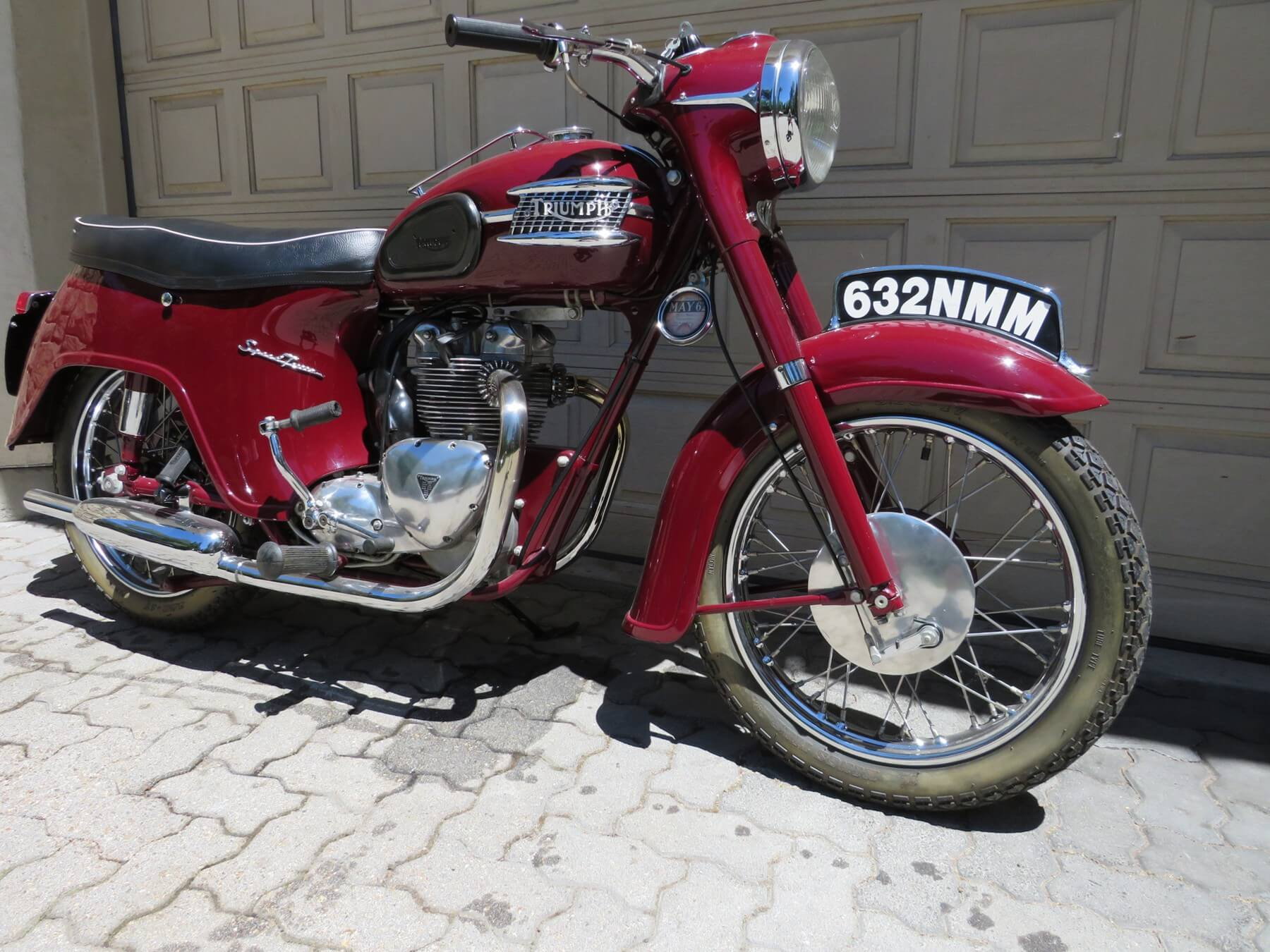 1962 Triumph 5TA Speed Twin – Castoro Collection