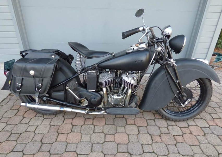 1940 Indian Sport Scout — Sold