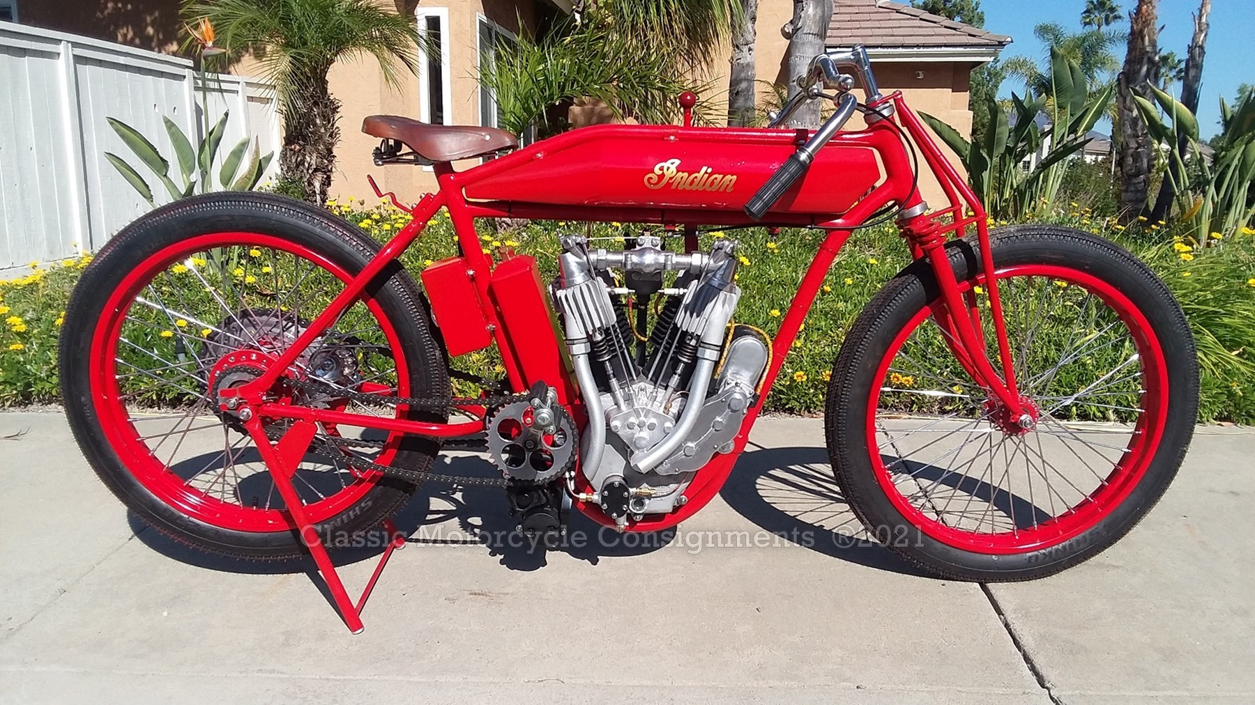 1913 Indian – Custom Built Racer
