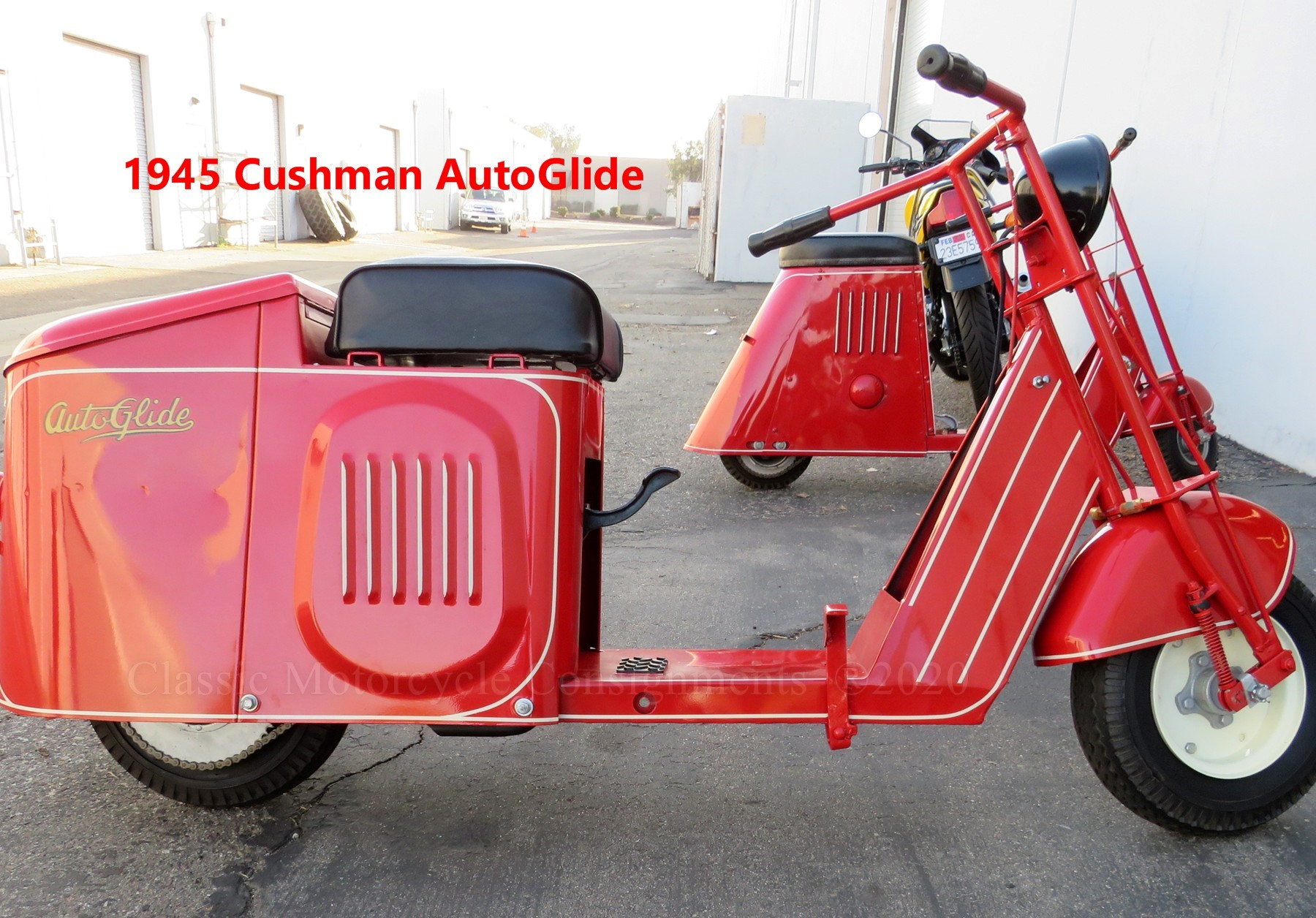 1945 Cushman AutoGlide Scooter
