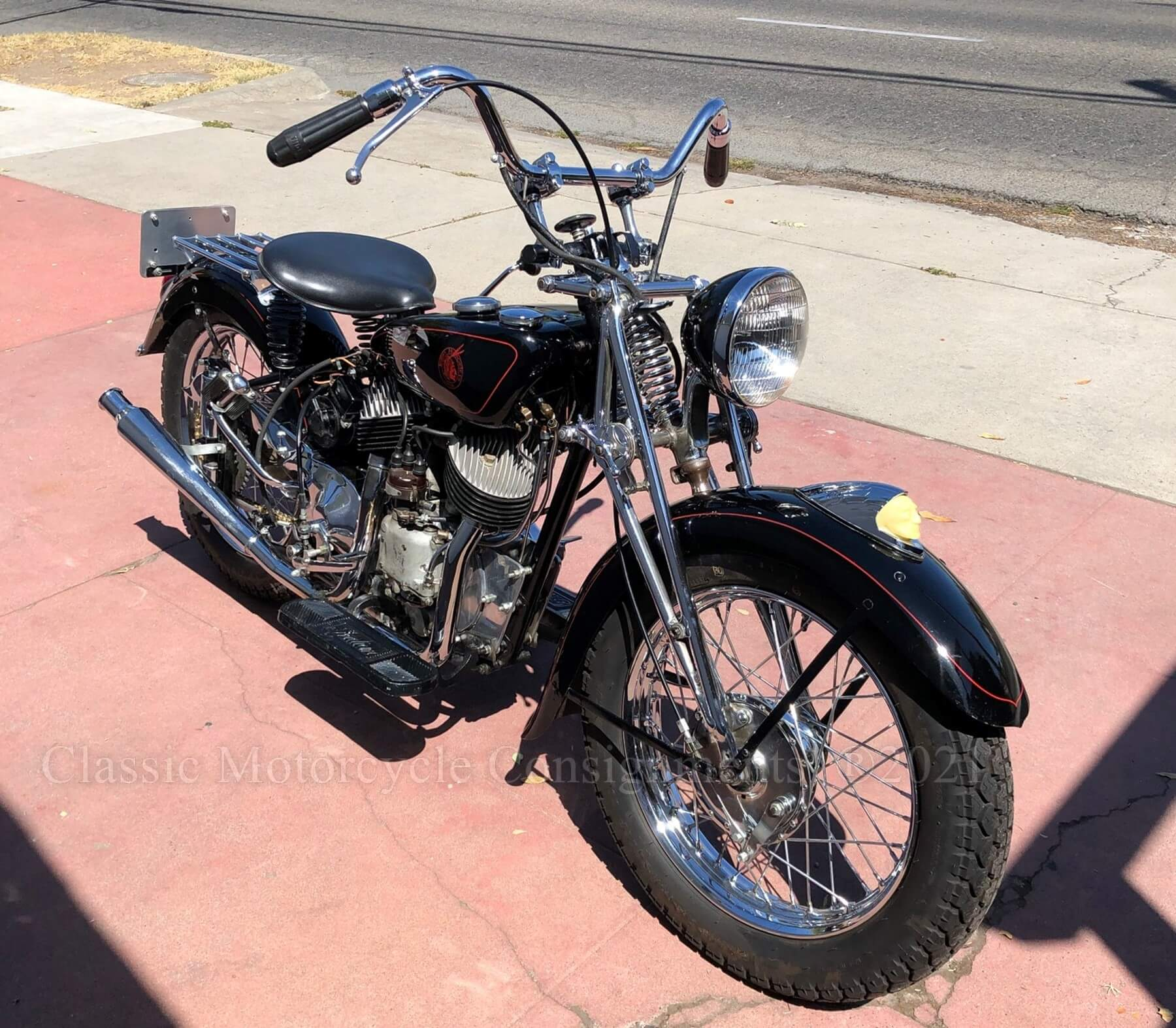1968 Indian Scout – American Indian Motorcycle Co. – Sammy Pierce