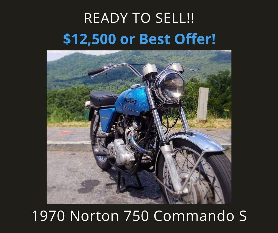 1970 Norton 750 Commando S Motorcycle