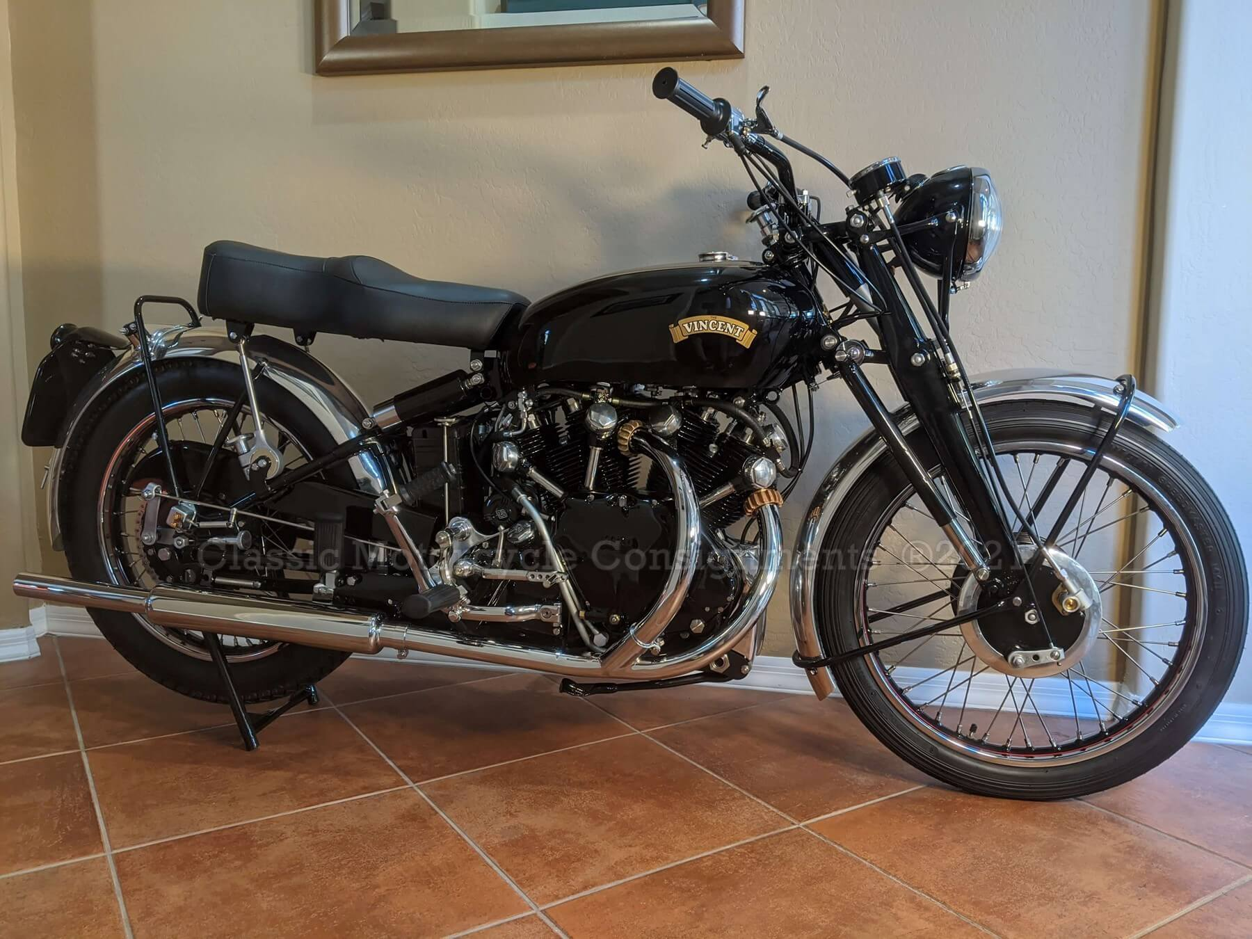1948 Vincent Series B Rapide Motorcycle