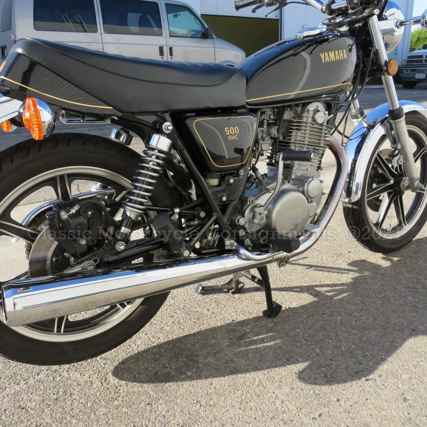 1978 Yamaha SR 500 DOC