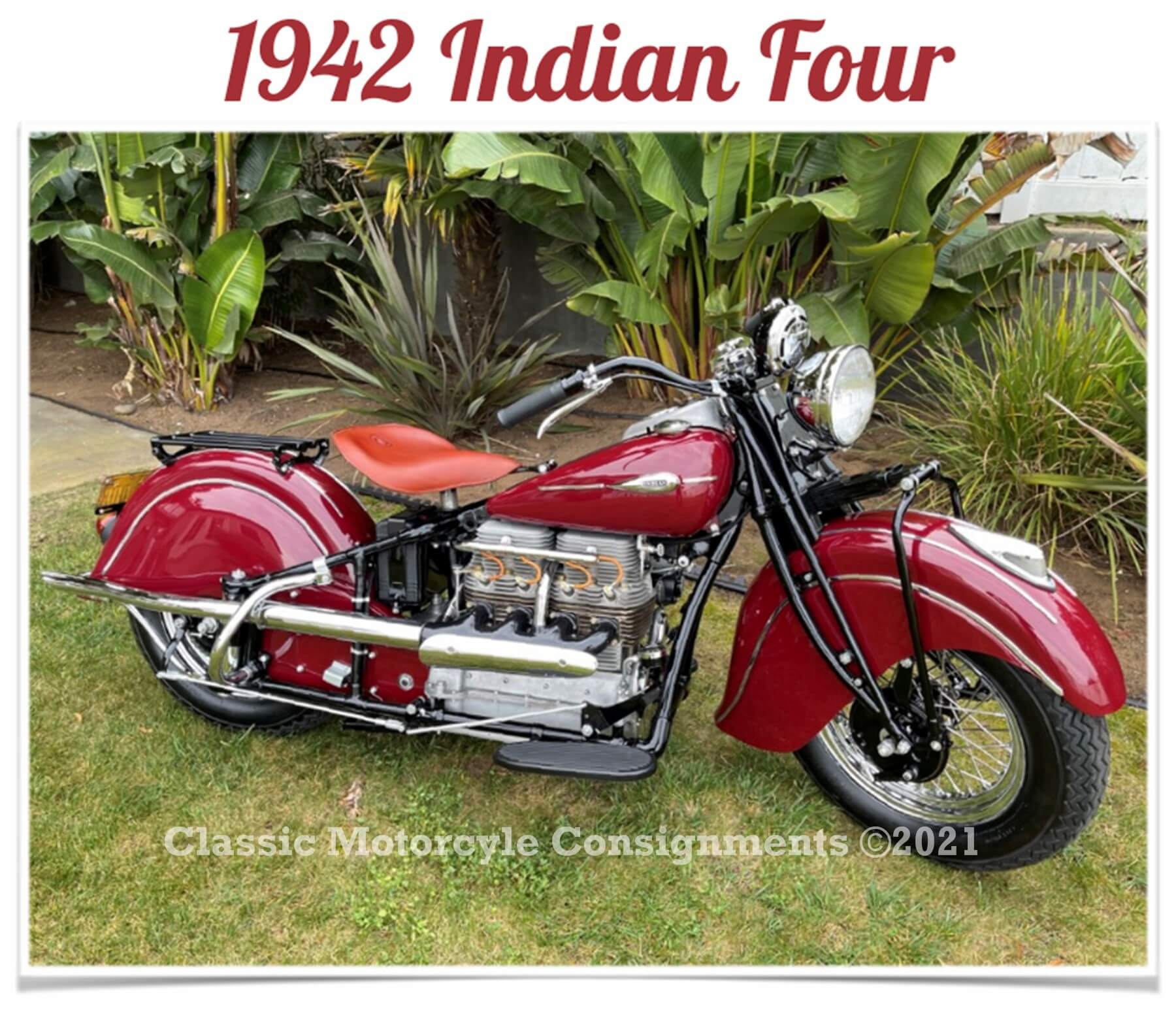 1942 Indian Four – Model 442