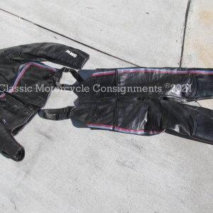 BMW Vanson Leathers 2-Piece Riding Suit