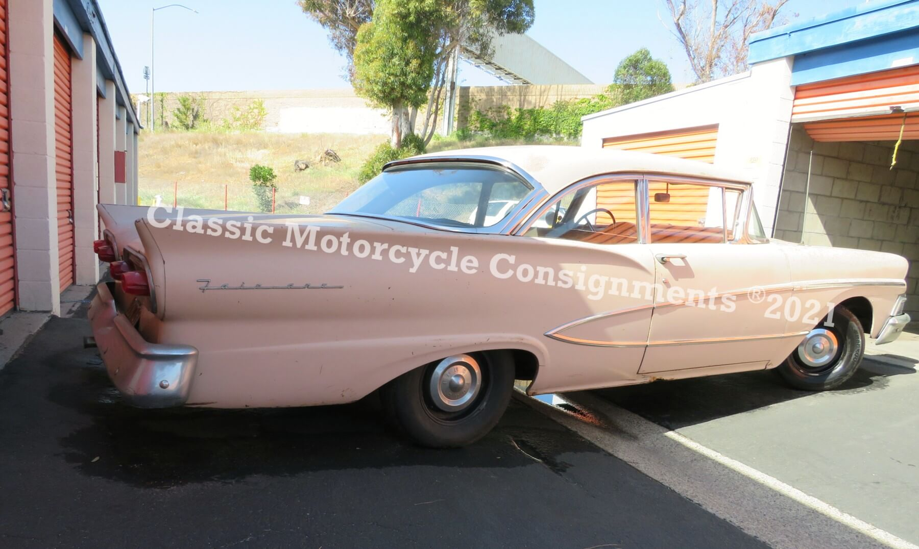 1958 Ford Fairline — SOLD!!