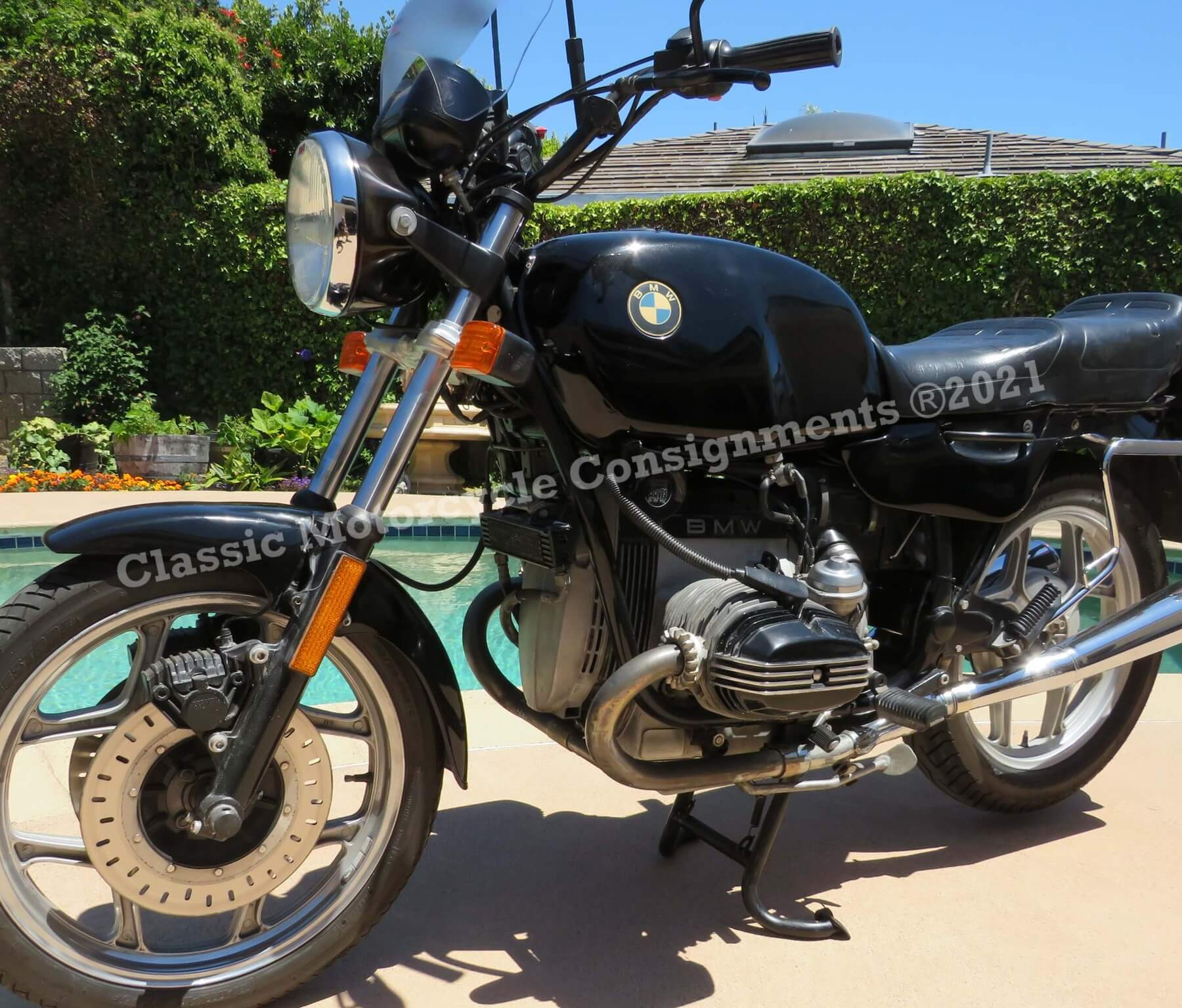 1989 BMW R100 RT Motorcycle